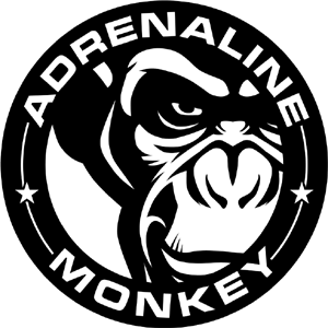 The Adrenaline Monkey Logo